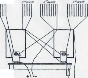 Принципиальная электрическая схема установки.  Общий вид электробаллистической установки К.И. Константинова...